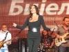 Ceca Svetlana Raznatovic peva tokom koncerta u Bijeljini, Republika Srpska