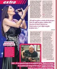 svet magazin ceca ljubavi zivi novi album aleksandar milic maj 2011