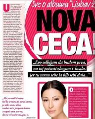 svet magazin ceca ljubavi zivi novi album nova ceca maj 2011