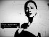 ceca svetlana raznatovic crno bela: pozadina, poster, wallpaper za desktop 1280x1024