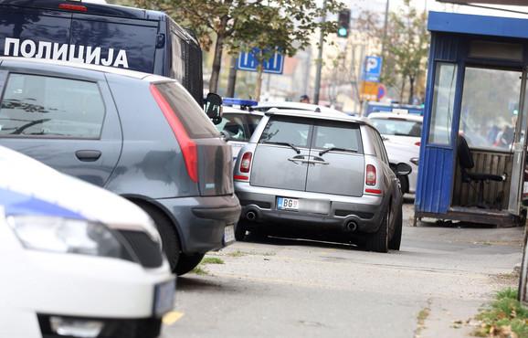 Kantrimen u policiji u Savskoj