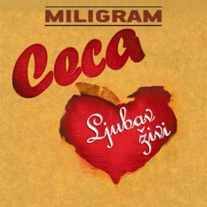 Ljubav živi omot novog Cecinog albuma 2011