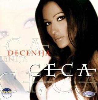 Ceca Decenija album 2001 omot