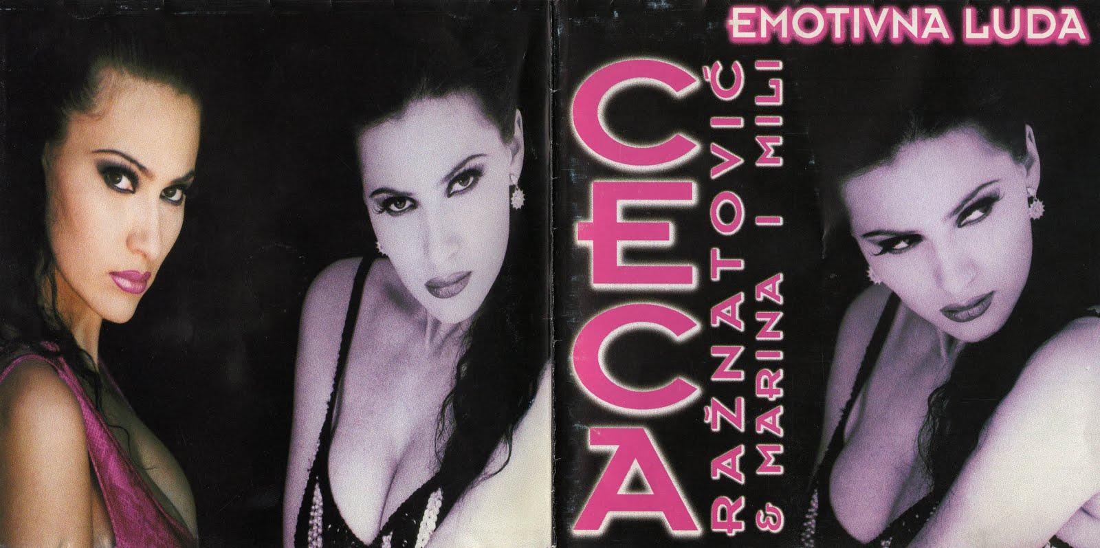 Ceca Emotivna luda Album 1996 omot