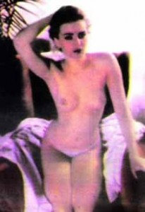 Ceca gola, stara slika iz 1982