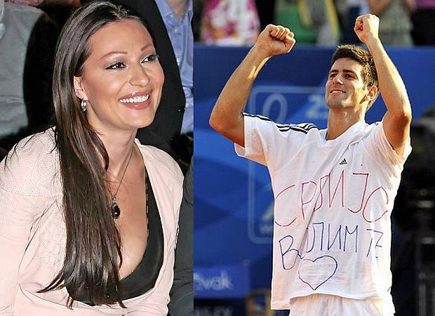 Ceca i Novak Djokovic