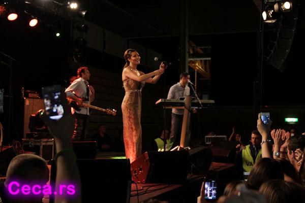 Ceca, koncert Stockholm, 12 maj 2012