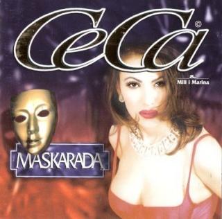 Ceca Maskarada Album 1998 omot
