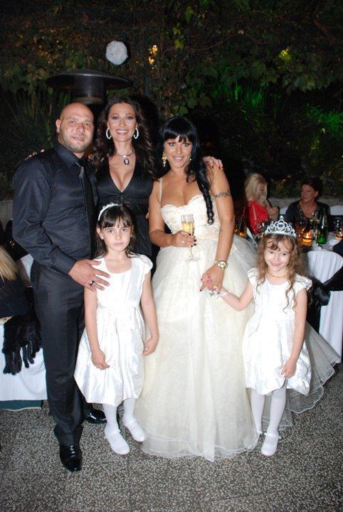 Ceca tokom Sekine Aleksic svadbe