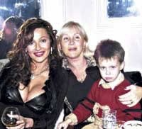 Ceca i njen sin Veljko