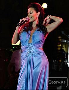Ceca na koncertu u Prilepu, Makadoniji