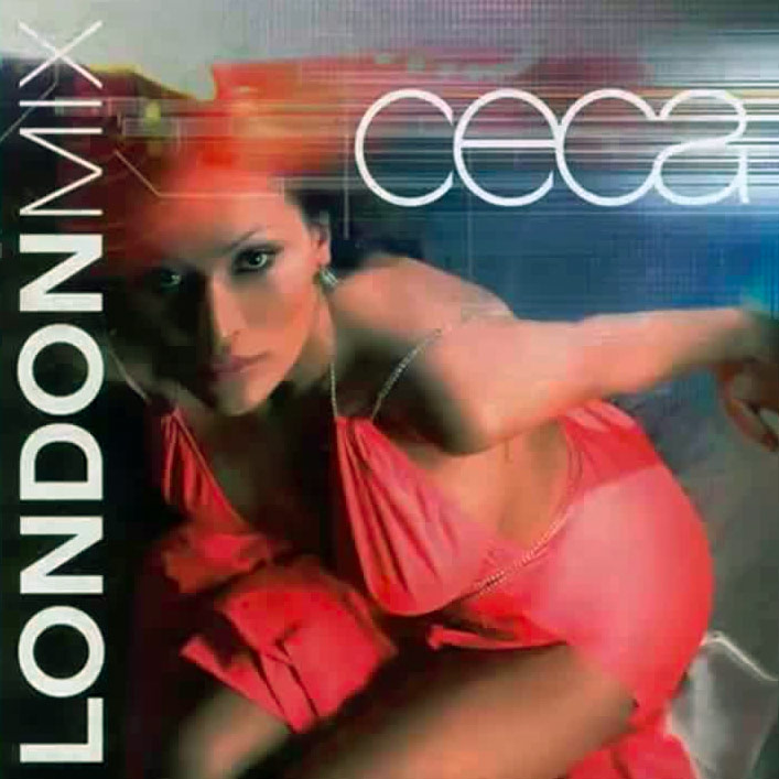Ceca London Mix 2005 omot