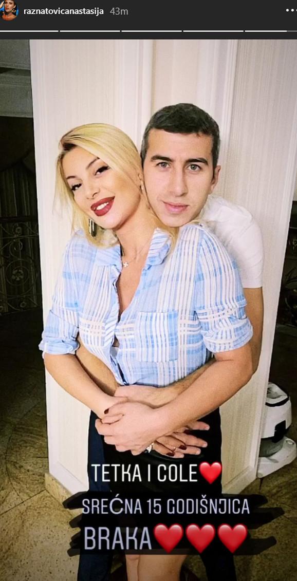 Lidija Ocokoljić i suprug Predrag