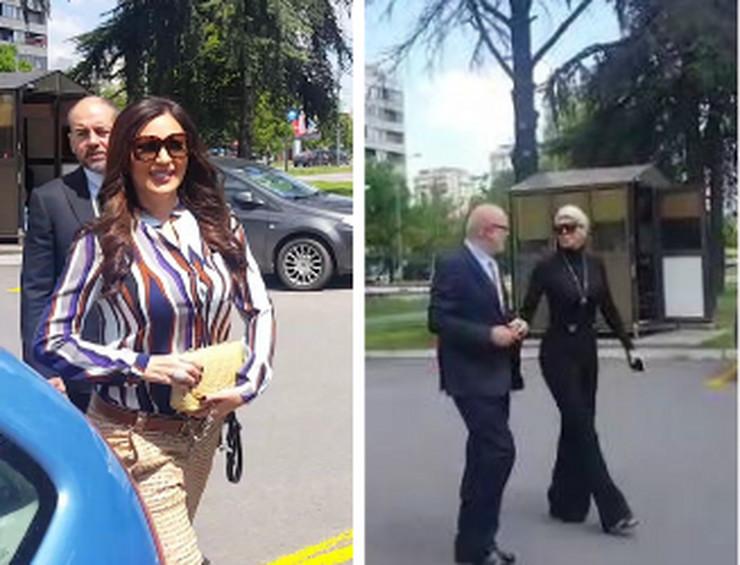 SVI DETALJI IZ SUDA Jelena Karleuša pokušala da izbegne Cecu, pobegla u drugi hodnik (VIDEO)