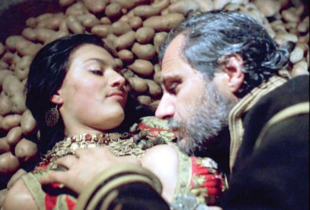 """scena iz  """"Nečiste krvi"""" Ceca i Rade Šerbedžija"""